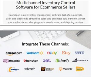 Onlilne inventory management software for ecommerce