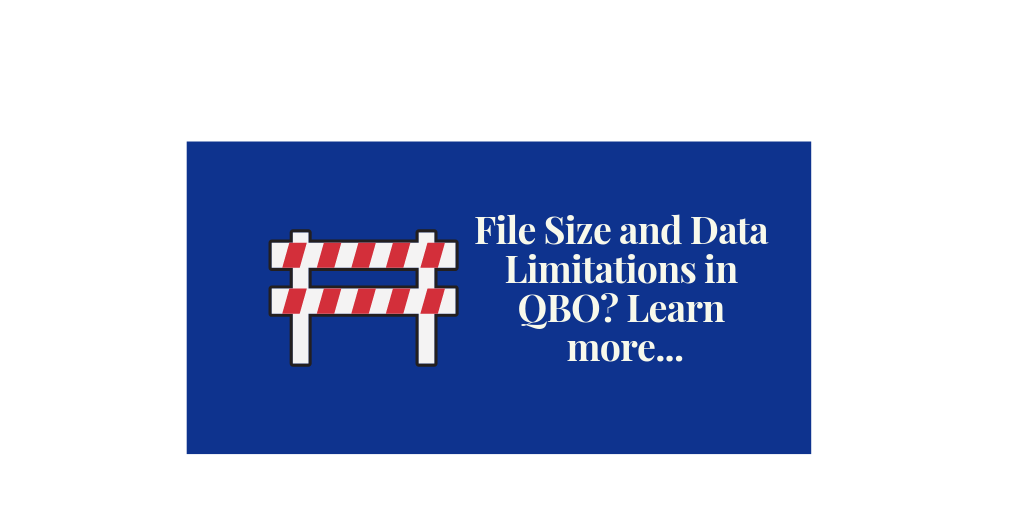 File Size and Data Limitations in QuickBooks Online?