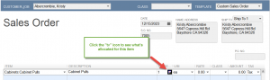 reserving inventory in quickbooks